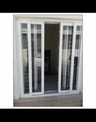 Sliding Clear Glass Upvc Doors