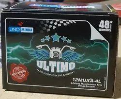 Capacity: 2.5ah-14ah Uno Minda Batteries, Z4L