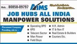 Graduation AIMS Job Hubs Manpower Solutions, Pan India