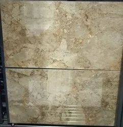 Beige Marble Floor Tiles, For Flooring, Thickness: 10mm