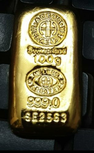 Gold 100gms bar
