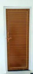 Slide & Fold Polished Pvc Door, For Home, Interior