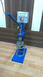 Glass Cup Manual Sealing Machine
