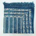 Dabu Indigo Cotton Floor Rug