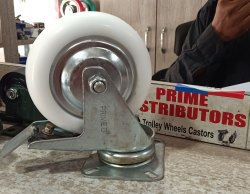 Prime 6 Inch Nylon Caster Wheel