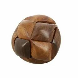 Wooden Puzzle Game Ball