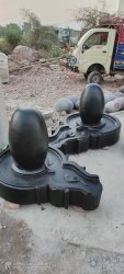 2 Feet Narmadeshwar Shivling For Temple Pooja
