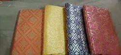 Silk Multicolor ladies brocade fabric