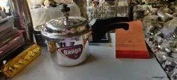 Raksha Ganga Silver Pressure Cooker, For Home