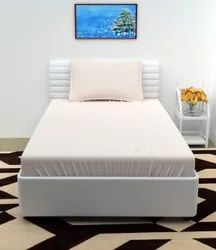 Plain White Cotton Bedsheets In Panipat