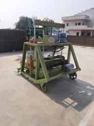 860m model Solid Block Making Machine Double vibrator