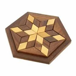 Wooden Puzzle Game Star