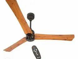 Golden oakwood Atomberg Renesa Smart Plus ceiling fan, Fan Speed: 360RPM, Power: 28w
