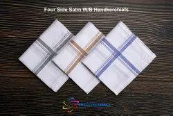 White Border Handkerchiefs