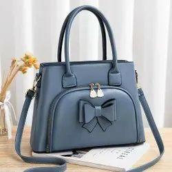 Red Pu Leather New Handbag