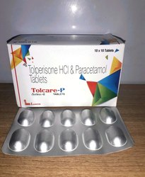 Tolperisone And Paracetamol Tablets