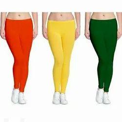 Js Cotton Blend Leggings, Size: Xl, xxl