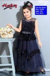 5075 Kids  Party Wear Gown
