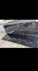 Rajasthan Black Martino Granite, Slab, Thickness: 15-20 mm