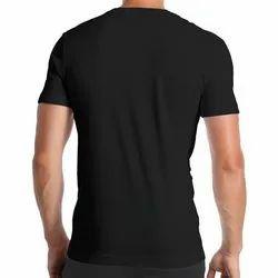 5 To 60 Men Plain Round Back T Shirt Hosiery Material