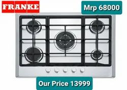 Franke Fhm 705 4g Tc Xs c Multi Cooking 700 Gas Cooking Top Cm. 70 - Inox 106.0037.358