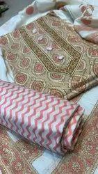 Printed Cotton suit cotton duppta