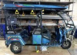 Umang E-Rickshaw With M.S & Alloy Wheel, Loading Capacity: 380 Kg