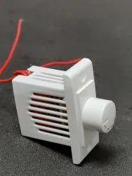 White PVC 4 Step Fan Regulator