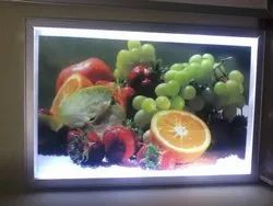 Aluminium Silver Led Photo Frame, For Display, Size: 2 Feet By 3 Feet