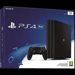 Black Sony Playstation 4 Pro