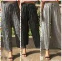 Ankle Length Grey Palazzo