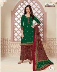 Mayur Khushi Cotton Printed Dress