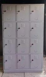 Powder Coating Finished 12 Door Locker industrial Storage