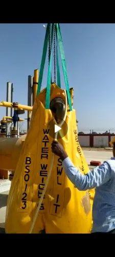 Crane Load Test PVC Water Bag