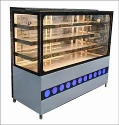 Glass Air Cooled Display Counters, For Commercial