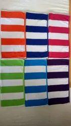 Plain Cotton Pool Towel, 250-350 GSM