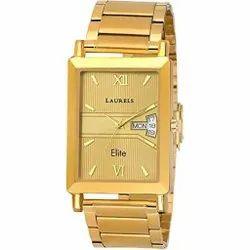 Analog Golden Laurels Watch