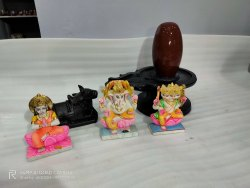 Shiva Family Narmadeshwar Shivling