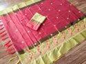 Ligalz presents cotton silk saree with blouse