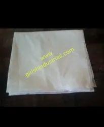 White plain disposable towel