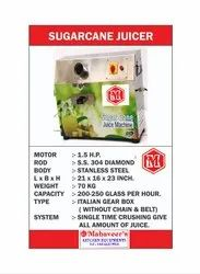 Commercial Automatic Sugarcane Juice Machine, Yield: 400 ml/kg