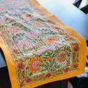 Handblock Printed Cotton Tablet runner