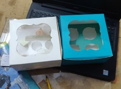 4 Cupcake Box
