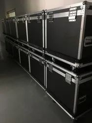Led wall panel flight case