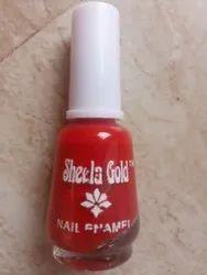 12ml Sheela Gold nail polish b4 plan, Glass Bottle