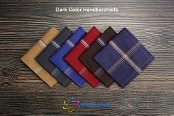 Dark Color Border Handkerchiefs