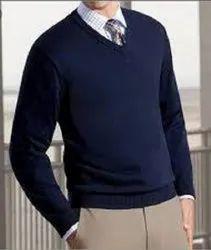 KAUSHAL GARMENTS V shape Mens Woolen fancy Sweater/ pollover 8' yarn