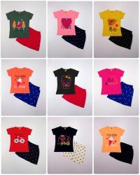 Kids Printed Skirt set
