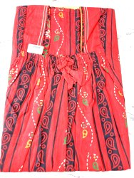 Gujri materail pure cotton nighties, Block Print, Blue
