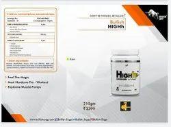 Bullish Supp High Pre Workout, Xtreme sports nutrition, 210 Gram